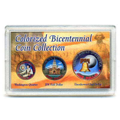 Colorized Bicentennial Coin Collection