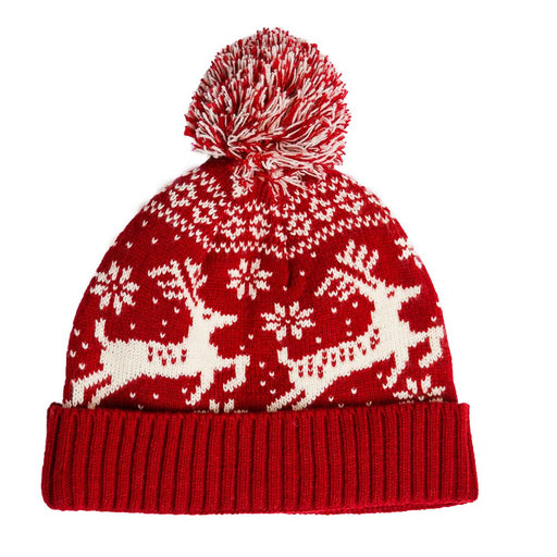 Prancer Red Hat - TOP IT OFF - The Shops at Mount Vernon