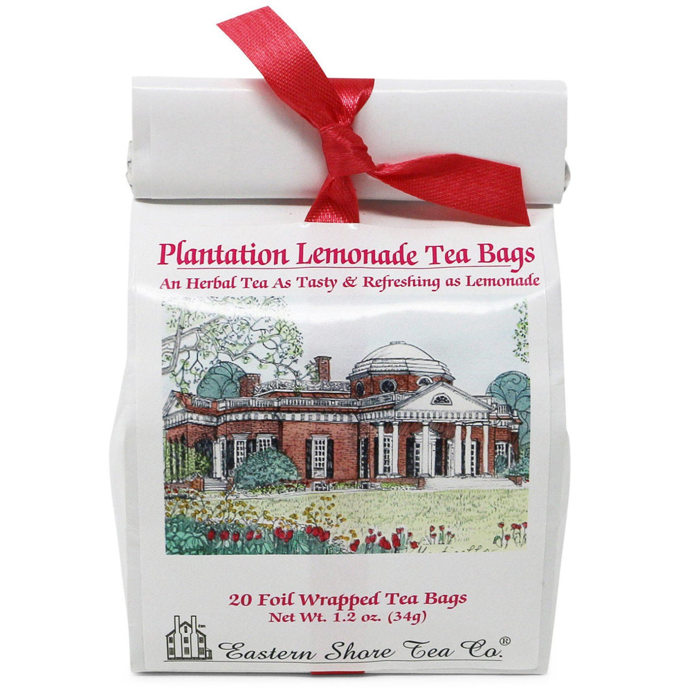 Plantation Lemonade Tea Bags - The Shops at Mount Vernon - The Shops at Mount Vernon