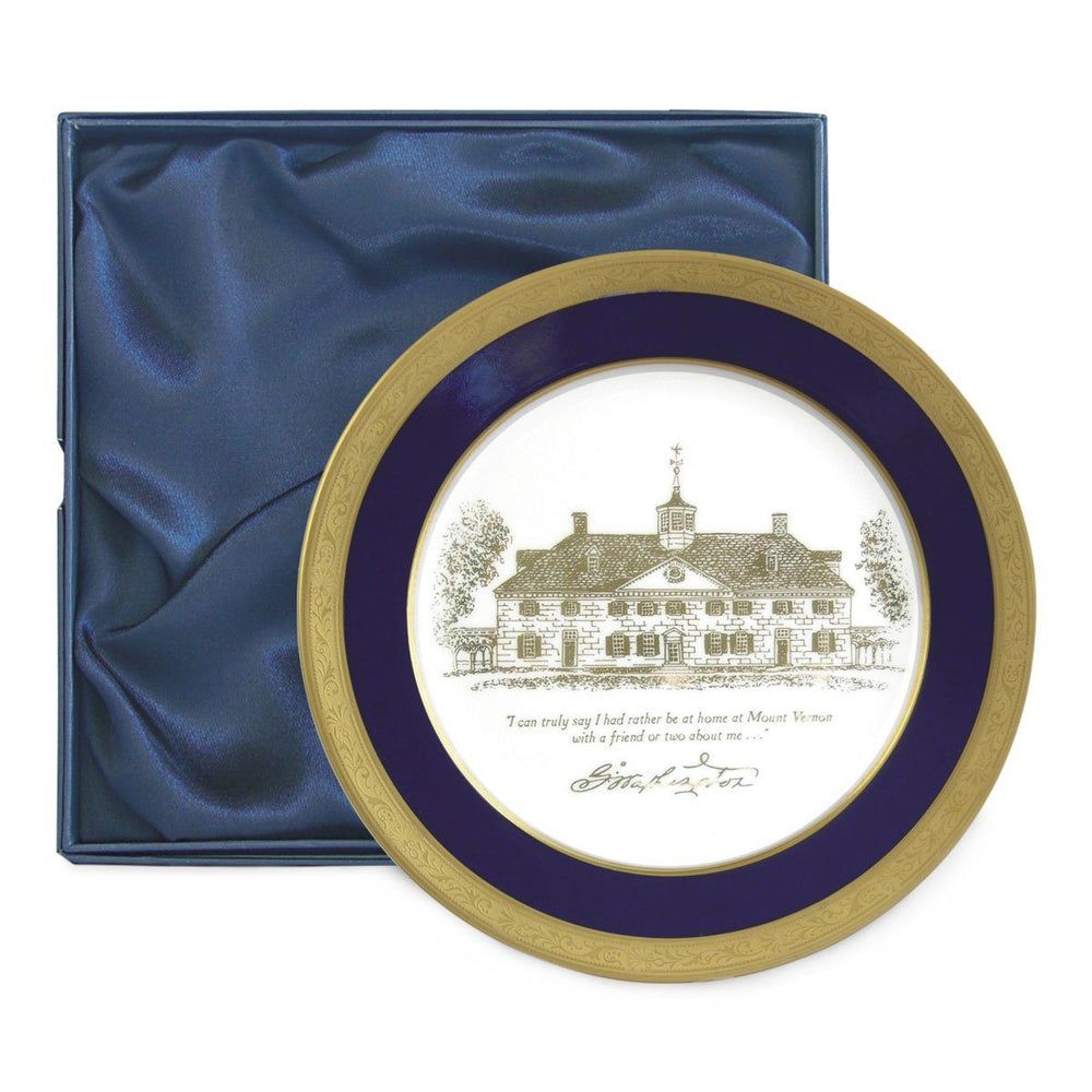George Washington's Mount Vernon Plate - The Shops at Mount Vernon - The Shops at Mount Vernon