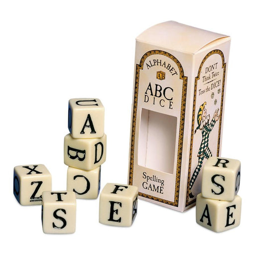 ABC Dice Spelling Game - DESIGN MASTER ASSOCIATES - The Shops at Mount Vernon