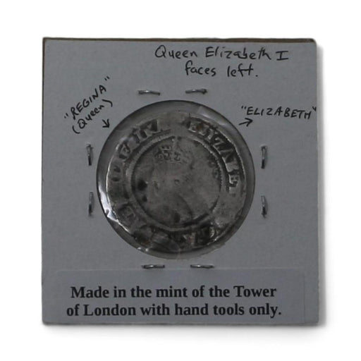 1568 Silver British Sixpence Antique Coin - DAVID CONSOLVO - The Shops at Mount Vernon