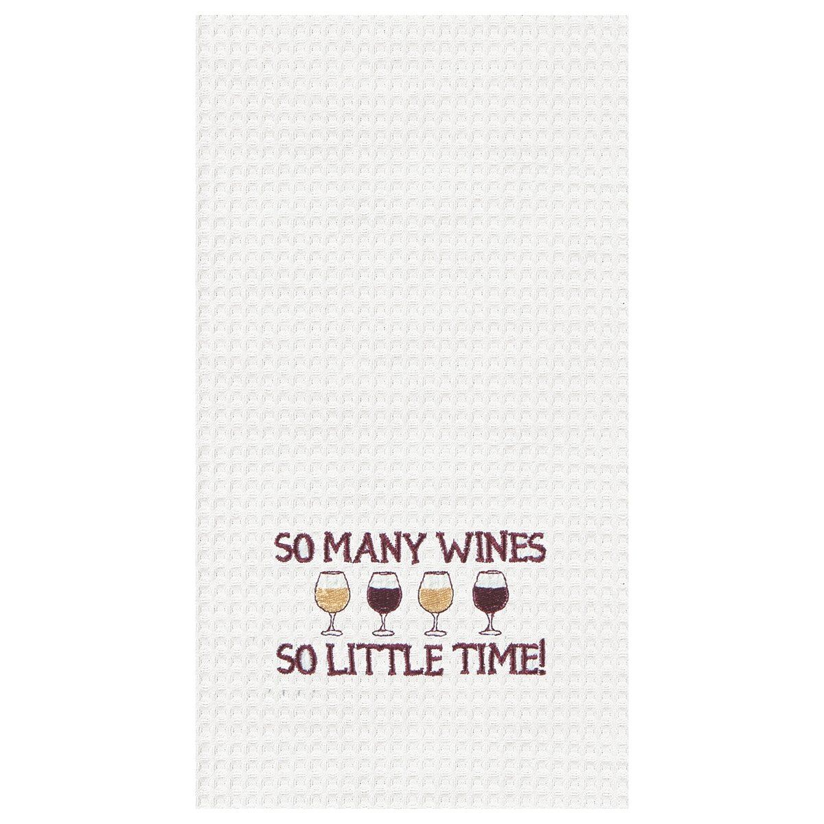 So Many Wines, So Little Time Towel