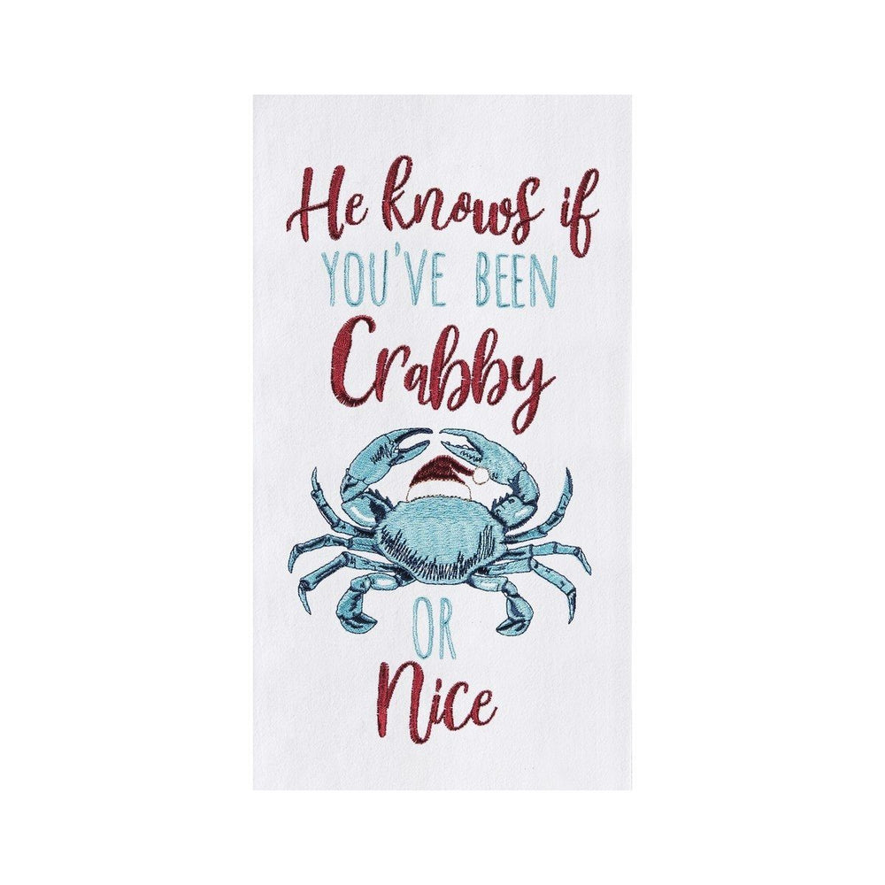 Crabby Or Nice Kitchen Towel - C & F ENTERPRISE - The Shops at Mount Vernon
