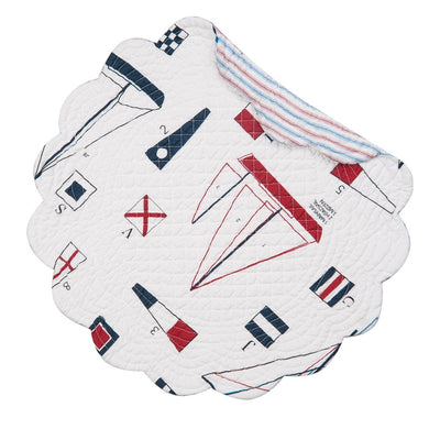 Nautical Round Placemat