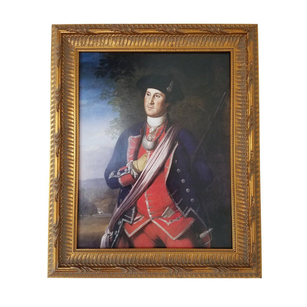 Washington as Colonel of the Virginia Regiment - C.HARRISON CONROY CO. INC - The Shops at Mount Vernon