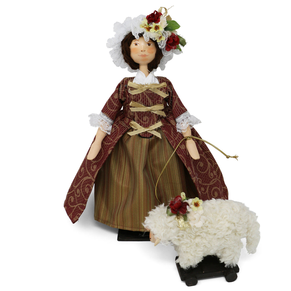 Nelly Wooden Doll - The Shops at Mount Vernon - The Shops at Mount Vernon