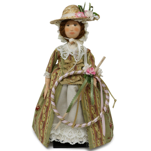 Elizabeth Wooden Doll - Silhouette Doll - The Shops at Mount Vernon