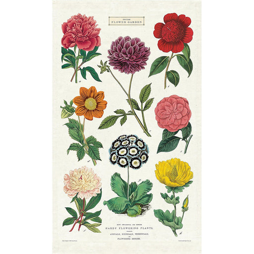 Botanica Tea Towel - Cavallini Papers & Co. Inc - The Shops at Mount Vernon