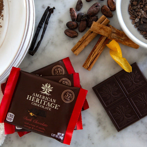 American Heritage Chocolate Tablet and Cooking Bars - FIRST SOURCE, LLC - The Shops at Mount Vernon