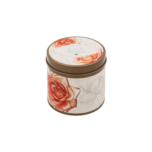 Apricot Rose Signature Candle Tin - Rosy Rings - The Shops at Mount Vernon