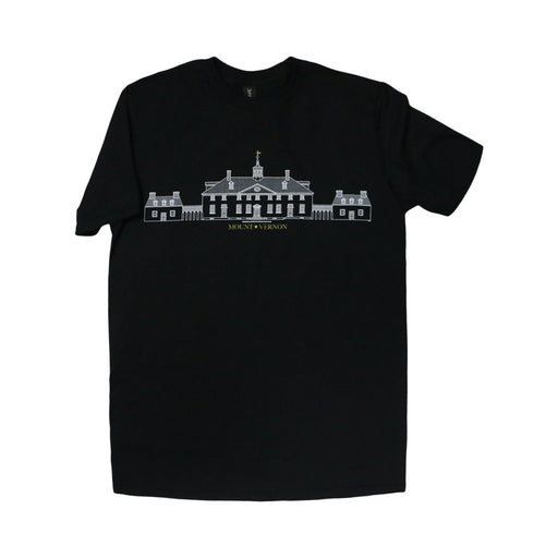 Mount Vernon Architectural T-Shirt - PLANET COTTON - The Shops at Mount Vernon