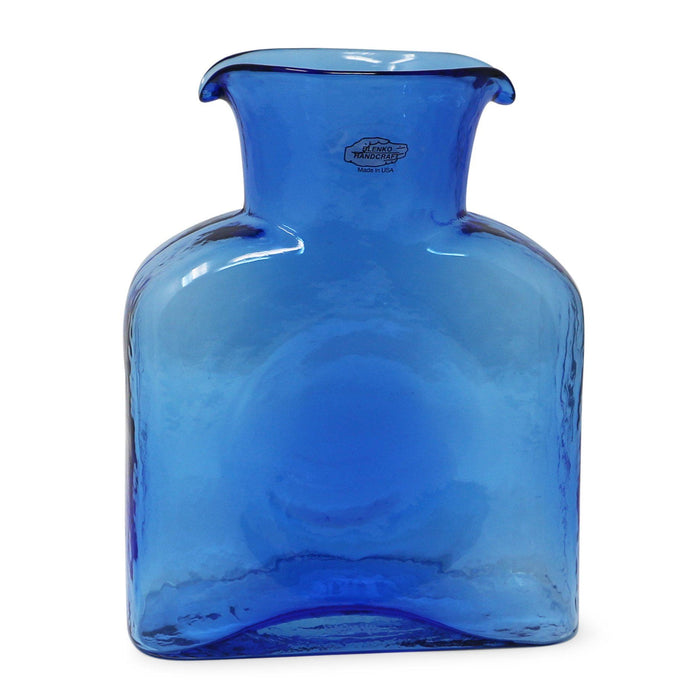 Azure Water Bottle - BLENKO GLASS COMPANY - The Shops at Mount Vernon