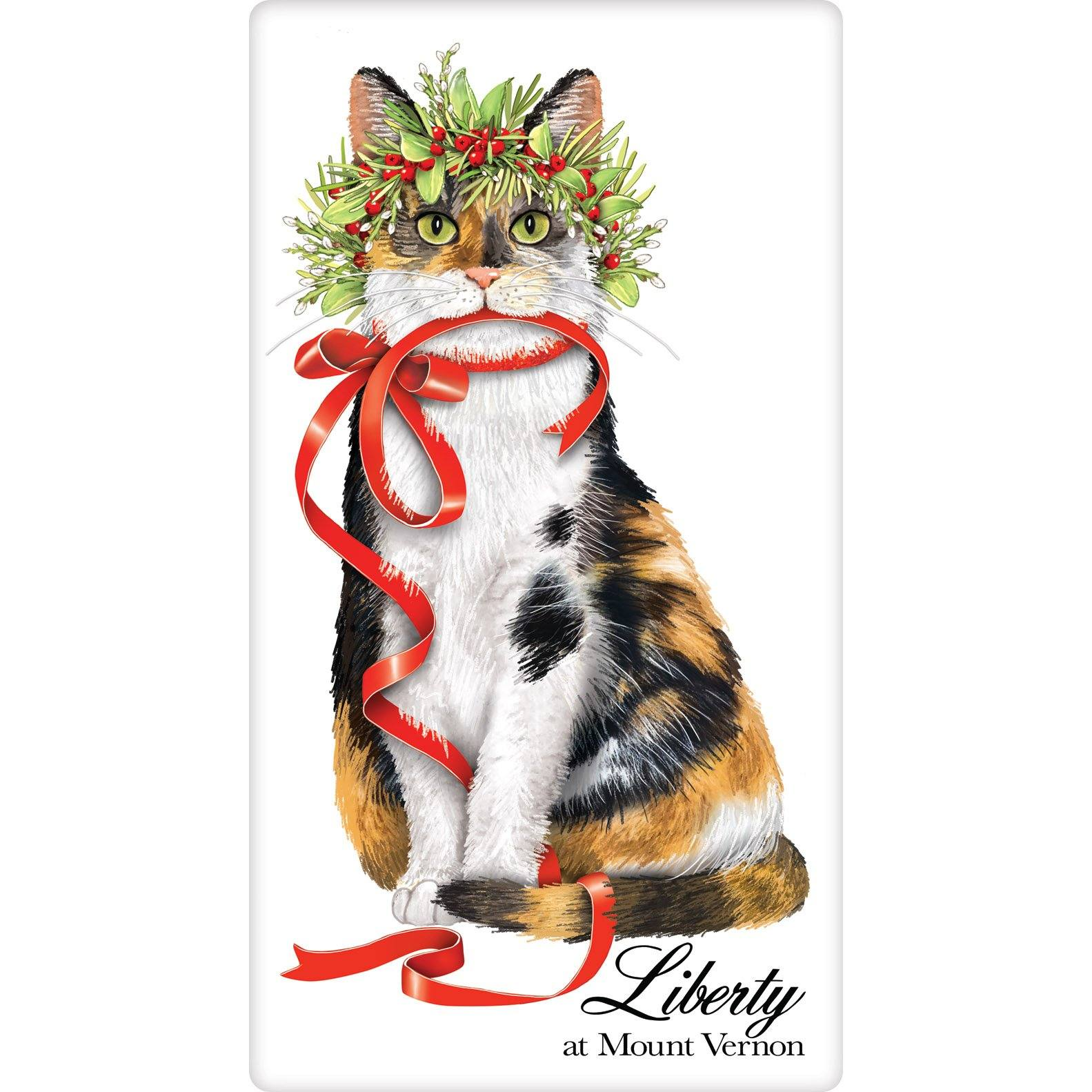 Liberty the Cat Towel