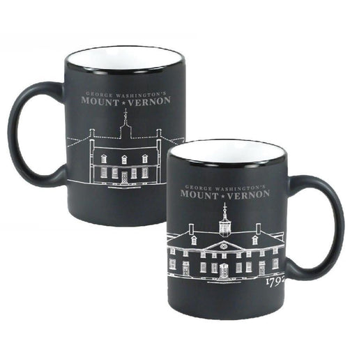 Mount Vernon Architectural Detail Mug - CHARLES PRODUCTS INC. - The Shops at Mount Vernon