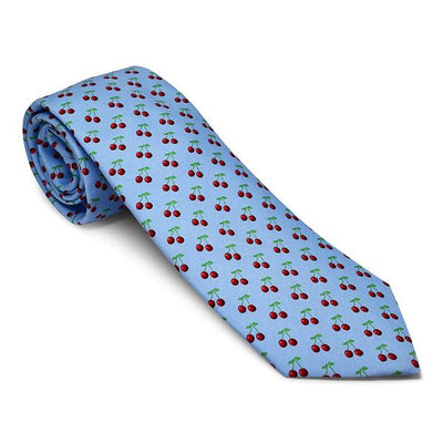Vineyard Vines Cherry Tie in Blue