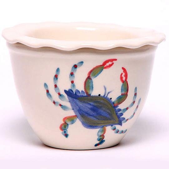 Blue Crab Two-Piece Dip Cooler - The Shops at Mount Vernon - The Shops at Mount Vernon