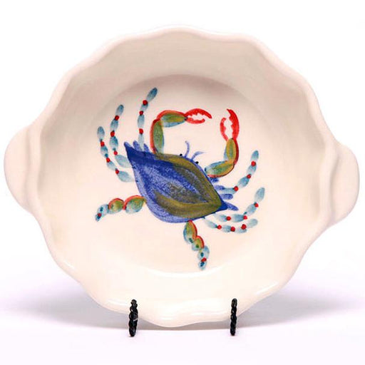 Blue Crab Small Casserole Dish - The Shops at Mount Vernon - The Shops at Mount Vernon