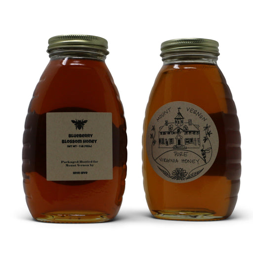 Blueberry Blossom Virginia Honey - Mad Man Mercantile - The Shops at Mount Vernon