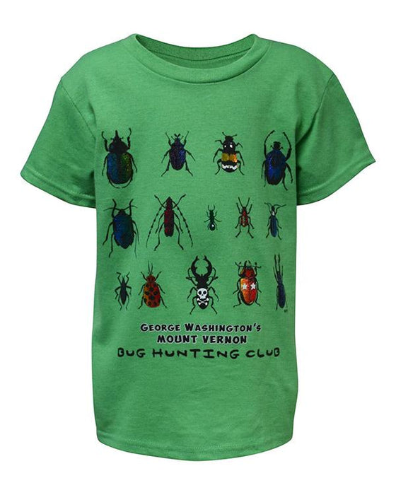 Mount Vernon Bug Hunting Child's T-Shirt - The Shops at Mount Vernon - The Shops at Mount Vernon