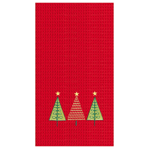 Three Xmas Trees Towel - C & F ENTERPRISE - The Shops at Mount Vernon
