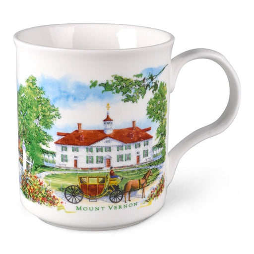 Mount Vernon Porcelain Mug - The Shops at Mount Vernon - The Shops at Mount Vernon