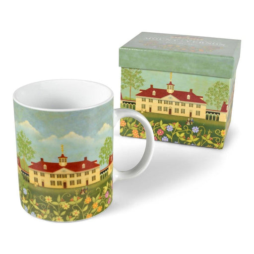 Mount Vernon Boxed Folk Art Mug - DESIGN MASTER ASSOCIATES - The Shops at Mount Vernon