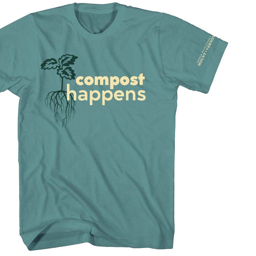 Compost Happens T-Shirt - PLANET COTTON - The Shops at Mount Vernon
