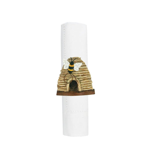 Bee Skep Napkin Ring - C & F ENTERPRISE - The Shops at Mount Vernon