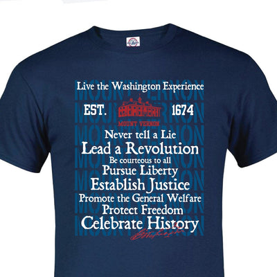 Live the Washington Experience T-Shirt