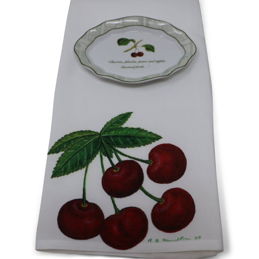 Mount Vernon Cherry Botanical Tray - The Shops at Mount Vernon - The Shops at Mount Vernon
