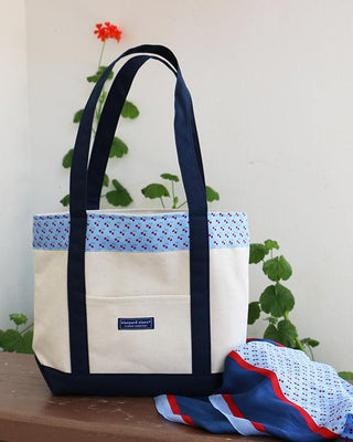 Vineyard Vines Classic Cherries Tote & Scarf Set