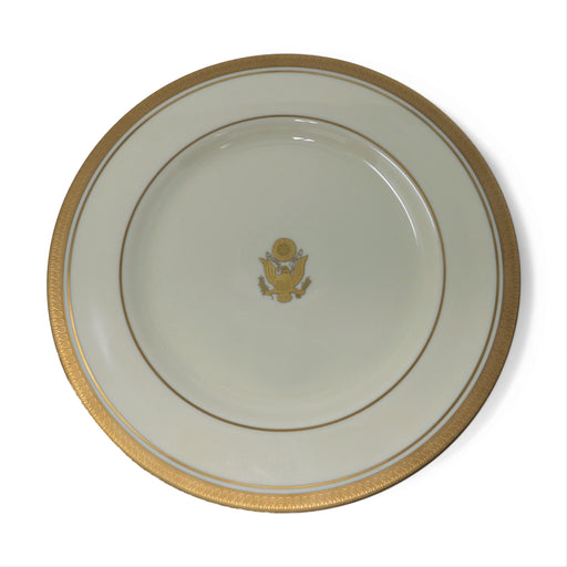 Pickard China - Great Seal in Well Salad Plate - Pickard China - The Shops at Mount Vernon