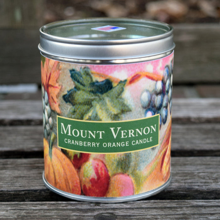 Mount Vernon Cranberry-Orange Scented Candle - The Shops at Mount Vernon - The Shops at Mount Vernon