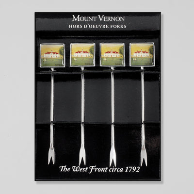 Set of 4 Hors d'Oeuvre Forks