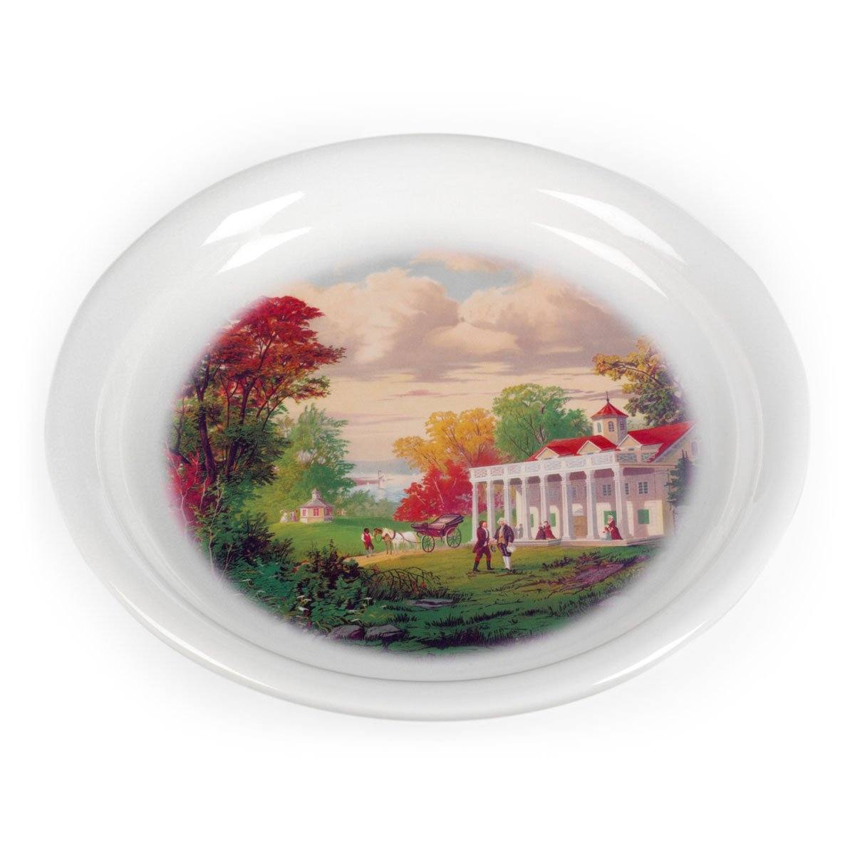 Mount Vernon by Gilman Porcelain Wine Coaster