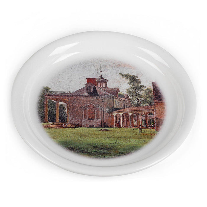 The Old Mount Vernon Porcelain Wine Coaster - The Shops at Mount Vernon - The Shops at Mount Vernon