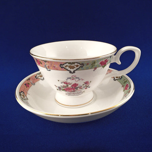 Peonies & Chrysanthemums Porcelain Cup & Saucer - DESIGN MASTER ASSOCIATES - The Shops at Mount Vernon