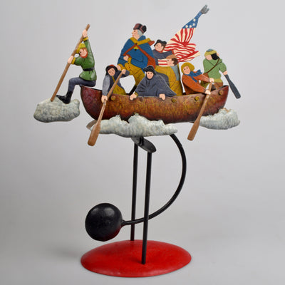 Crossing the Delaware Balance Sculpture