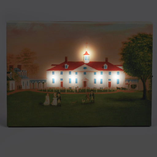 Mount Vernon 1792 Lite-Up Canvas - DESIGN MASTER ASSOCIATES - The Shops at Mount Vernon