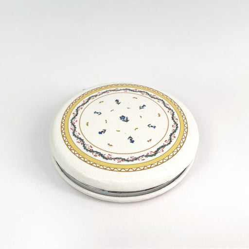 Ribbons & Cornflower Compact Mirror - DESIGN MASTER ASSOCIATES - The Shops at Mount Vernon