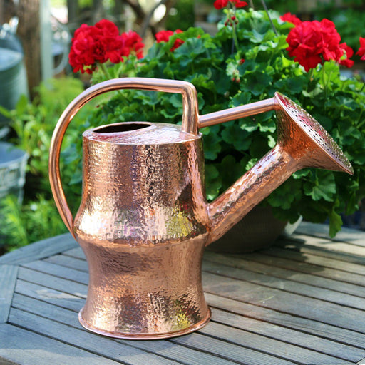 Martha Washington Hammered Copper Watering Can - WILDWOOD LAMPS - The Shops at Mount Vernon