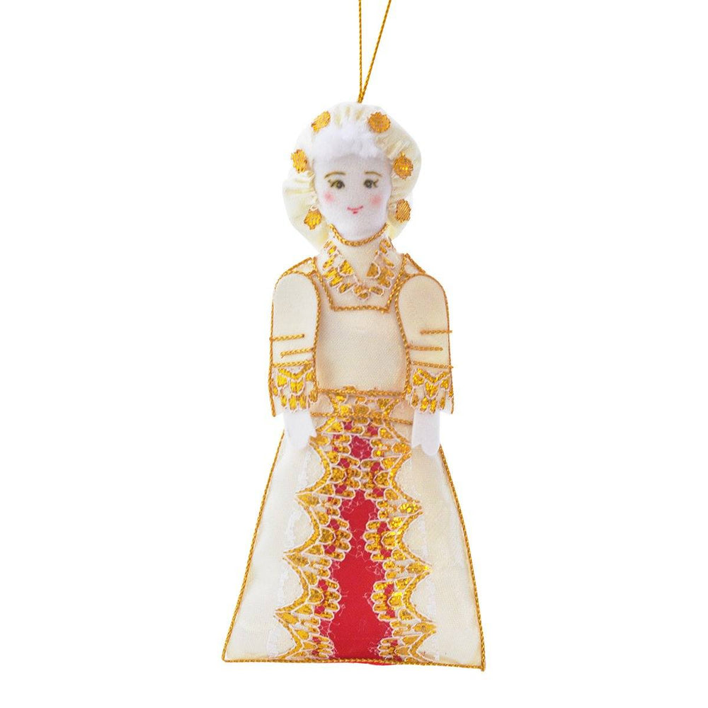Martha Washington Ornament - ST NICOLAS LTD. - The Shops at Mount Vernon