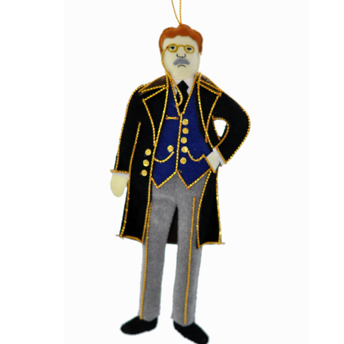 Theodore Roosevelt Ornament - ST NICOLAS LTD. - The Shops at Mount Vernon