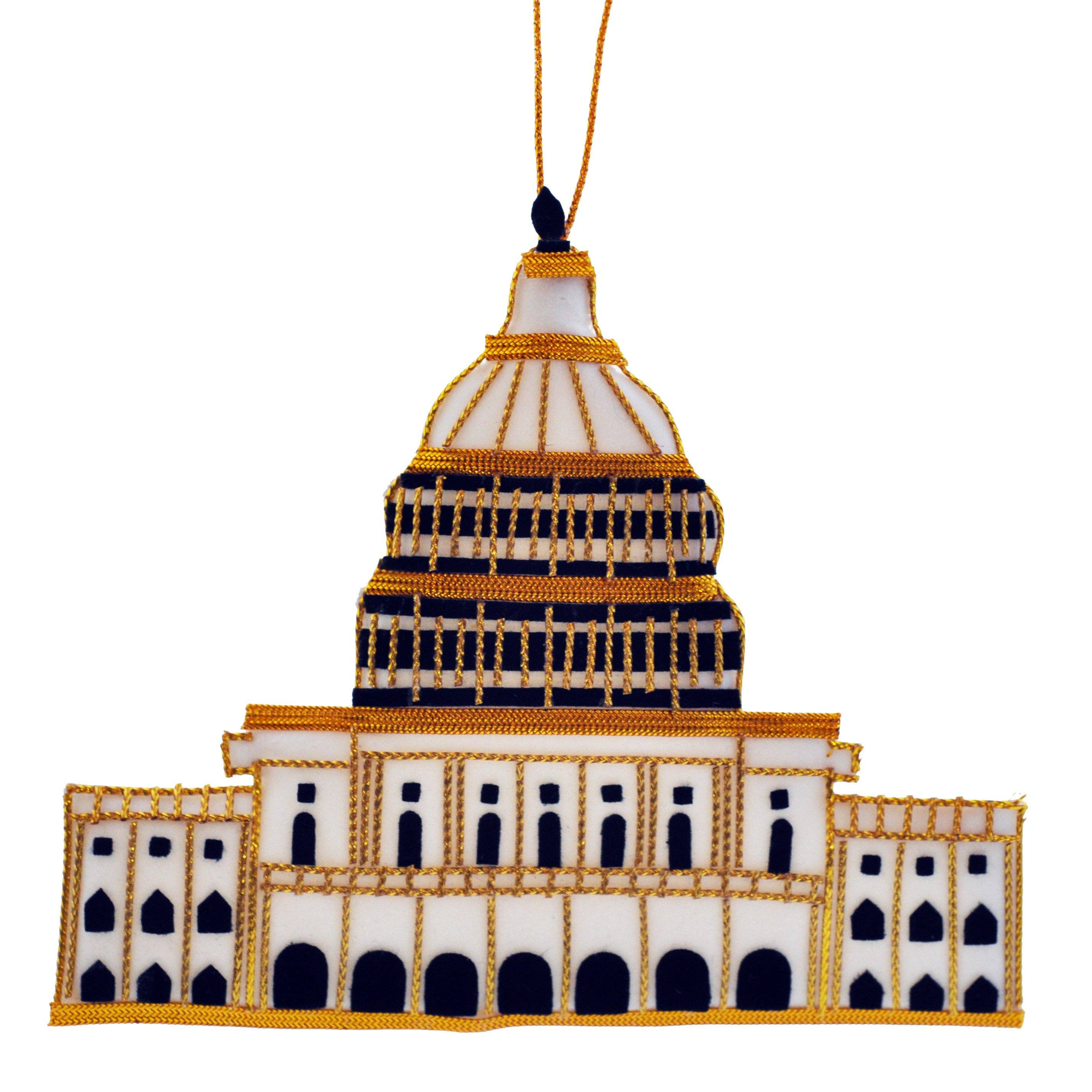 U.S. Capitol Building Ornament