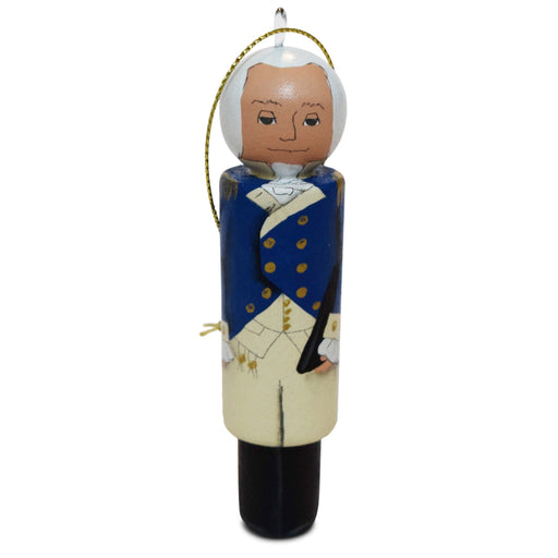 Handmade George Washington Ornament - RACHAEL A. PEDEN - The Shops at Mount Vernon