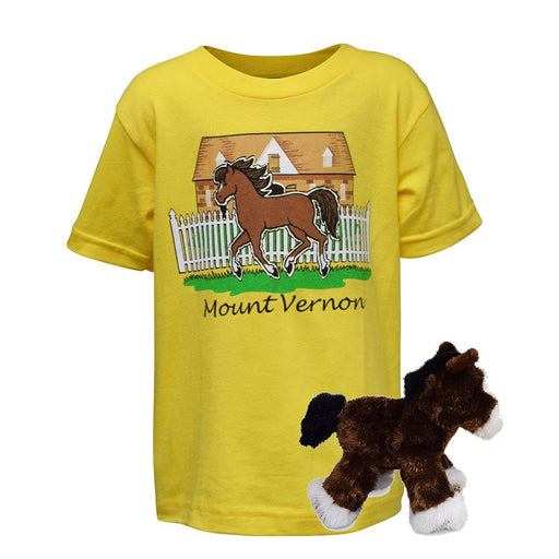 Mount Vernon Child's T-Shirt and Horse Combo - The Shops at Mount Vernon - The Shops at Mount Vernon