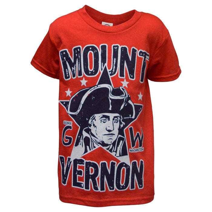 General Washington Child's Red T-Shirt - The Shops at Mount Vernon - The Shops at Mount Vernon