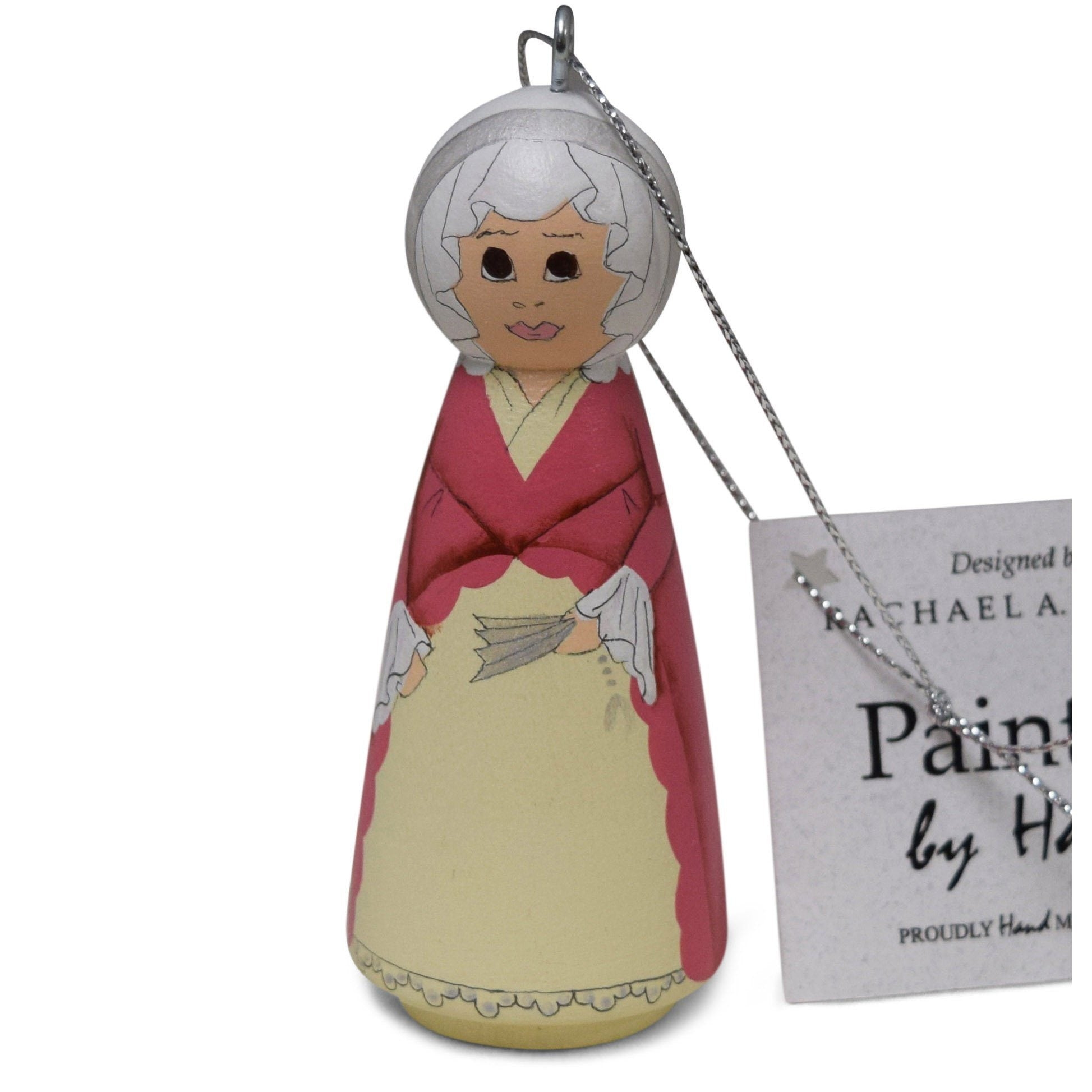 Handmade Martha Washington Ornament