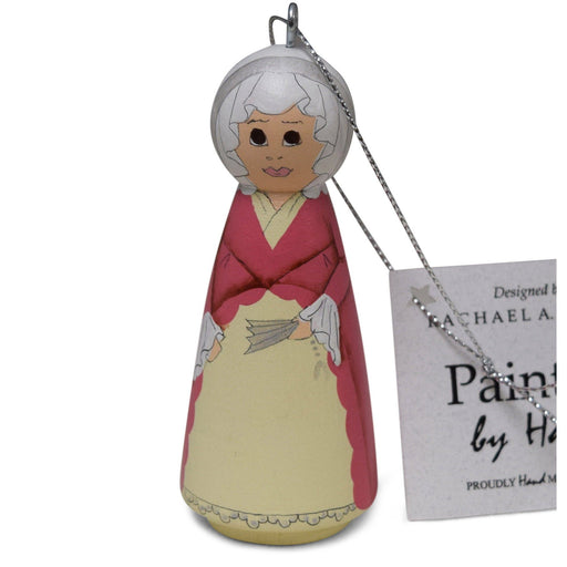 Handmade Martha Washington Ornament - RACHAEL A. PEDEN - The Shops at Mount Vernon